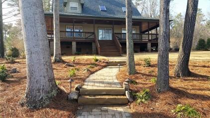 Walkway & Stone Steps