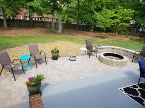 Patio & Firepit