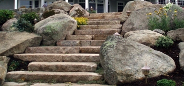Stone Slab Steps