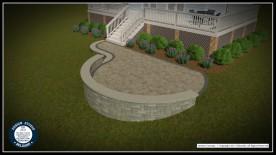 Belgard Rendered Design