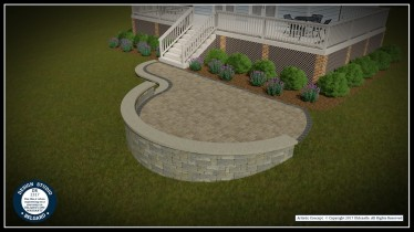 Belgard Rendered Design