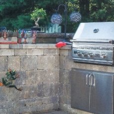 Patio & Embedded Grill