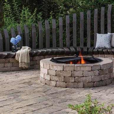 Weston Stone Fire Pit
