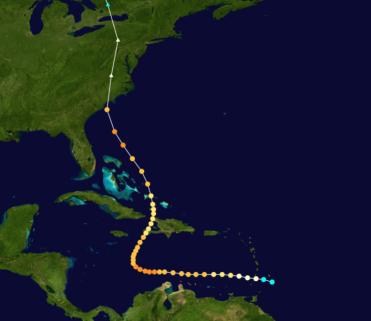 Hurricane Hazel 1954