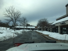 stony drive lane after snow removal 12 10 18