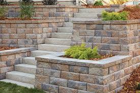Walls w/ Slab Stone Steps